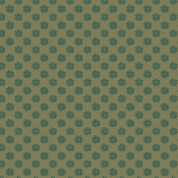 Liberty The English Garden Floral Dot In Green