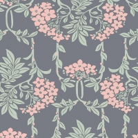 Liberty Hesketh House Nouveau Mayflower in Grey