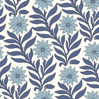 Liberty Hesketh House Sweet Marigold in Blue