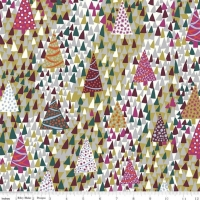 Liberty Seasons Greetings Sparkling Forest Warm