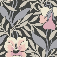 Liberty Hesketh House Harriets Pansy in Grey